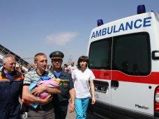 В Крым вернулся прооперированный в Санкт-Петербурге ребенок