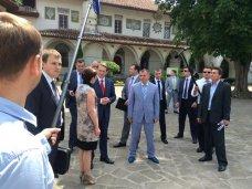 Спикер Госдумы посетил Бахчисарайский дворец