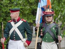 В Севастополе состоялся парад военно-исторических клубов