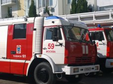 МЧС Москвы передали в Севастополе три спецавтомобиля