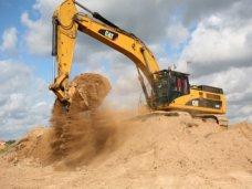 На востоке Крыма остановлена незаконная добыча песка