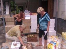 Ялта передала гуманитарную помощь для беженцев с юго-востока Украины