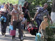 В Крыму официально числится 5 тыс. беженцев с юго-востока Украины