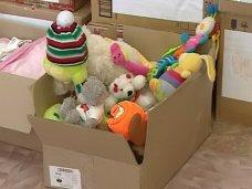 В детсаду Симферополя принимают благотворительную помощь для детей юго-востока