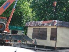 В Алуште демонтировано 17 нелегальных объектов