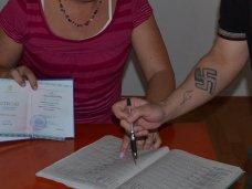 В Симферополе несовершеннолетние заключенные получили школьные аттестаты