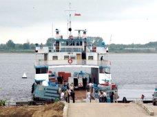 Время перехода паромов через Керченский пролив увеличено из-за шторма