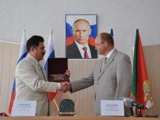 Симферопольский район и Вологодская область подписали соглашение о сотрудничестве