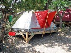 В бухте Ласпи разобрали незаконный палаточный городок