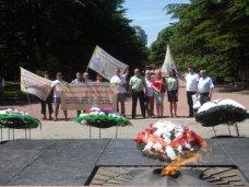 В Симферополь прибыл студенческий антинаркотический автопробег