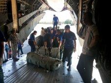 В Севастополь доставили гуманитарный груз для беженцев