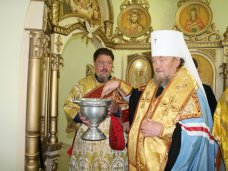 В военном госпитале в Симферополе освятили часовню святителя Луки
