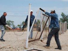 Под Феодосией демонтировали незаконно установленный забор