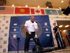 В Коктебеле пройдет чемпионат мира по армлифтингу