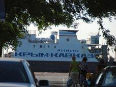 Керченская переправа за сутки перевезла 2500 автомобилей
