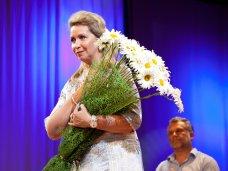 Севастопольцев с Днем семьи поздравила супруга российского премьера