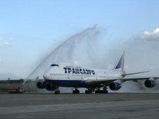 В Симферополь прибыл один из самых больших пассажирских самолетов