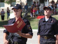 В Симферополе 80 военных приняли присягу