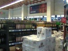 В Симферополе изъяли 30 тыс. бутылок нелицензионного алкоголя