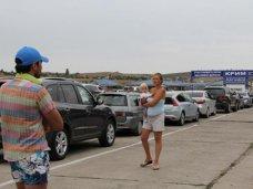 Очередь в порту «Кавказ» на Керченской переправе выросла до 2 тыс. машин