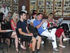 В Ялте состоялся мастер-класс для крымских журналистов