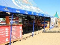 На пляжах Берегового выявили 30 незаконных кафе