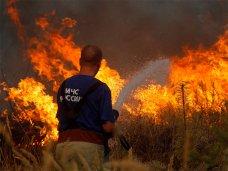 В Крыму высокая пожарная опасность