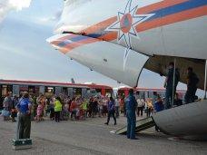 Из Крыма в Иваново вылетел самолет с беженцами