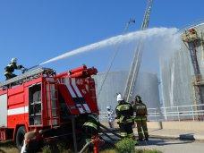 На севастопольской нефтебазе провели учения МЧС