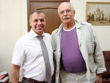 Крымский спикер встретился с Никитой Михалковым