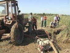 Под Феодосией ликвидировали большой прорыв водовода
