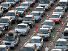 В порту «Кавказ» очереди на паром в Крым ожидают 2,5 тыс. автомобилей