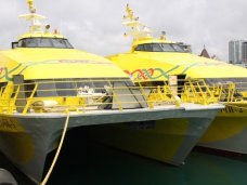 Катамараны «Сочи 1» и «Сочи 2» задействуют для перевозки пассажиров через Керченский пролив