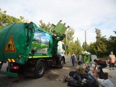 В Бахчисарае приступила к работе новая мусороуборочная техника