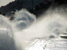 В Крыму на завтра объявлено штормовое предупреждение
