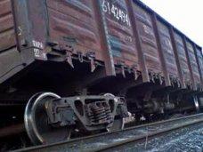 В Бахчисарайском районе с рельсов сошел вагон