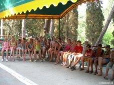 На отдых в Крым прибыли 100 детей из Калининграда