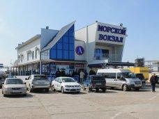 В порт «Крым» из Керчи пустили дополнительный автобус