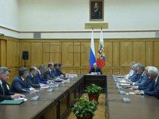 В Крыму состоялось совещание Совета безопасности