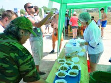 На турслете «Таврида – 2014» развернули полевую кухню МЧС