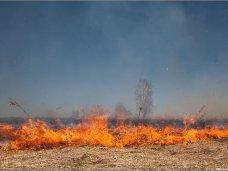 В Крыму местами сохраняется чрезвычайная пожароопасность