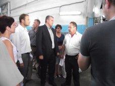 Аксенов встретится с трудовым коллективом «Крымпласта»