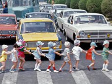 На дорогах Крыма проходит акция «Внимание! Дети!»