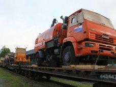 В Симферополь из Санкт-Петербурга направили 107 единиц техники