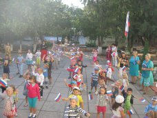 В детсаду Симферополя отметили День государственного флага