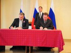 Крым подписал соглашение о сотрудничестве с Курской областью