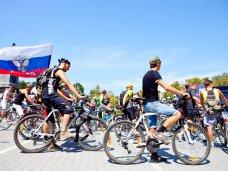 В Севастополе состоялся велопробег