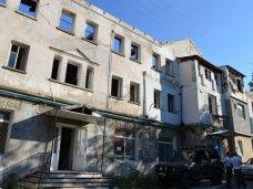 В Гаспре начали реконструкцию сгоревшего многоквартирного дома