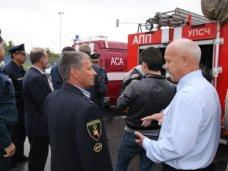 В Симферополь из Санкт-Петербурга отправили 19 пожарных машин