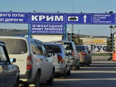 На паромы в Крым увеличилась очередь